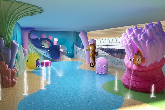 New Disney Dream Features Nemo's Reef, Goofy's Sports Deck and Aquaduck!